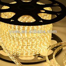 High voltage 18-20lm Shenzhen led strip 50m/Roll 110V 127V 220V 230v led strip lamp 3528