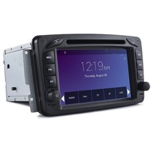car stereo for mercedes benz c-class w203 car dvd player with GPS navigation SD USB bluetooth HD player