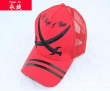2014 new design high quality baseball cap embroidered logo mesh trucker caps