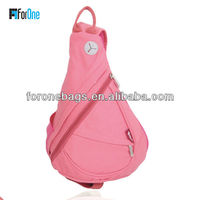 Pretty cross strap backpack/one strap backpack for girl