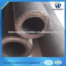 Cable de acero flexible de lona de la trenza de goma de la manguera