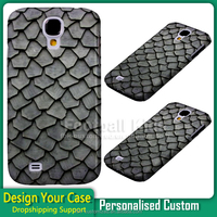 wholesale Grey petal tiles design cell phone case cover for Samsung and for iPhone with customized design