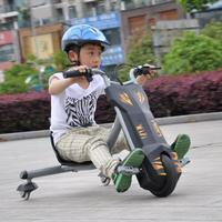 China wholesale high quality Drifting flash rider 360 150cc chinese electric childrens tricycle with push bar
