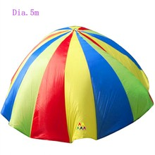 Dia.5m In 4 colors parachute toy for kids playing