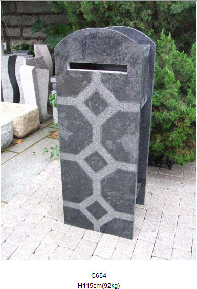 wasserdicht mailbox naturstein briefkasten granit produkt id 100000141329. Black Bedroom Furniture Sets. Home Design Ideas