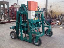 Planos Para Fabricar Máquina Ponedora De Bloques De Cemento,maquina QMJ4-35