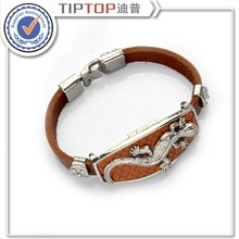 Bracelet brief knitted genuine leather bracelet strap hand-rope lovers cowhide bracelet wholesale price