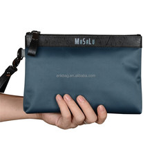 men's clutch bag, leather pouch bag for men, crocodile bag men