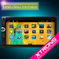 XTRONS TD695A Android 4.4.4 full hd media player Multi-touch Screen Double Din Car DVD Player with OBD2