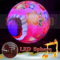 venta al por mayor de 3D pantalla esferica de leds, p6mm para interior