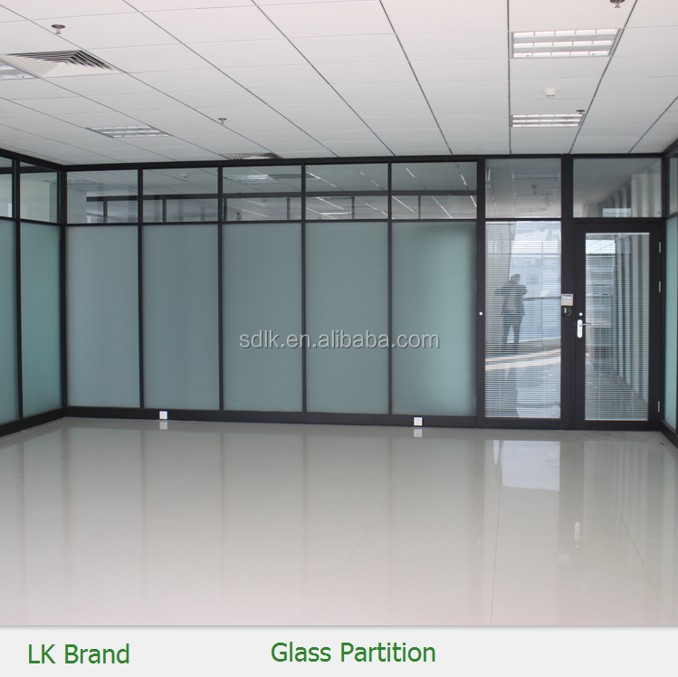 Demountable Partition Detail : Demountable office sound proof glass wall partition buy