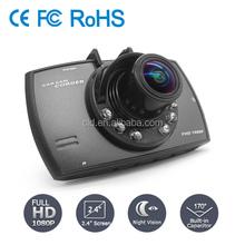 Motion Detection Loop recording 2.7'' screen full 1080P brid view car camera dvr