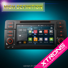 """PF7246BA-7"""" Android 4.4.4 OS 2 din With Mirror Link & OBD2 For BMW Old 3 Series E46"""