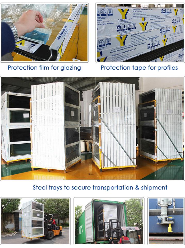 En aluminium et en bois fen tre coulissante porte mod les for Cote standard fenetre