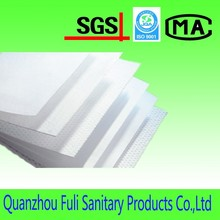 Airlaid nonwoven patterned Industrial Cleaning Wipes,raw materials of sanitary products