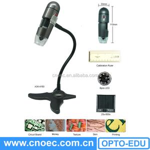 A34.4160 25x-600x Портативный микроскоп/мини портативных USB цифровой микроскоп