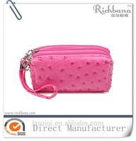 custom printed cosmetic bag with custom logo high quality