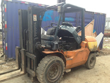 Used 5 Ton Forklift Japan Toyota 5 Ton Forklift Good Condition