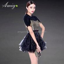 leisur dress fashion office lady dress 2012 moq 1pcs order