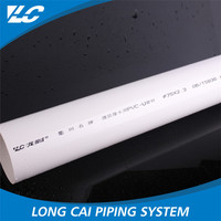 Superior Quality Pn1.6 Presure Upvc Raw material pvc pipe