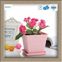 Garden cheap plastic solar power flower pot