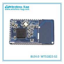Micro ultra-low power 2.4 GHz wireless BLE4.0 module with CE/FCC/RoHS approvals