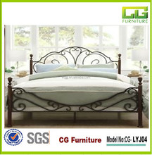 2015 Hot-Selling Antique Metal Tube Bed Frames With High Quality