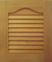 Solid Wood Louver Door