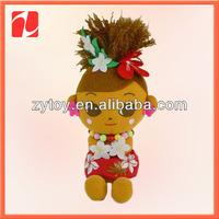 Vivid plush dolls for girls in China shenzhen OEM