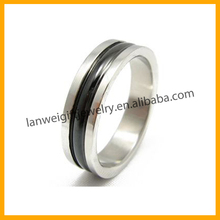 Stainless Steel New Products Personalized Simple Male Rings Jewelry