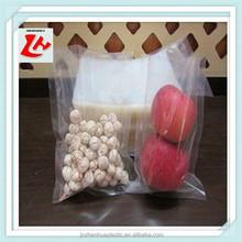 Heat seal food packing plastic vacuum bag