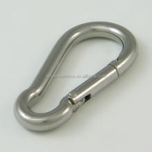 Stainless steel spring snap hook DIN5299 FORM C