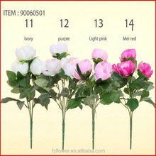 Alibaba china Crazy Selling artificial blooming peony bouquet