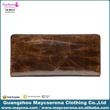 Best Brand Genuine Leather Men Money Clip Wallet