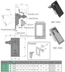SK1-052 Zinc Ally Panel door lock