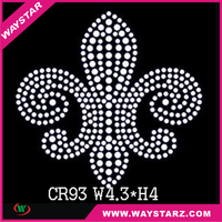 Shipping Rates From China To USA Crystal Cross Rhinestone Tranfser Design For Fashion T shirt