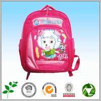 School Student Travel Shoulder Bag New sheep Colorful footprints Canvas Casual Backpacks
