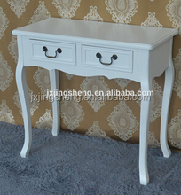 Modern appearance home furniture makeup dressing table, simple dresser with drawers