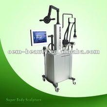 2012 Salon TOP tripolar RF+vacuum+ Cavitation Slimming Machines For Beauty Parlour F017