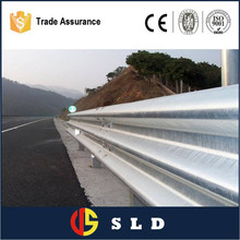 Factory direct sale steel road guard rails W-beam guardrail galvanized 004 CE certified