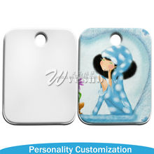 2015 New arrive Photo Printable Sublimation Blank Coated custom logo stainless steel dog tags