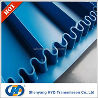 Modular Plastic conveyor belt with cleat and sidewall in food industry