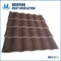 Zinc Aluminium colorful stone coated steel roofing/galvanised steel roofing