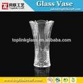 Cortinas de cristal florero, alto florero de vidrio, florero de vidrio mosaico
