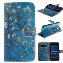 Customize Folding Stand Book Leather Wallet Cell Phone Case For Samsung Grand Prime/G530