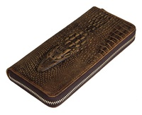 Real Leather Clutch Wallet Card Holder Factory China Wholesale 8067R
