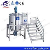 Machinery detergent homogeneous mixer 2000l liquid detergent mixing tank with high quality