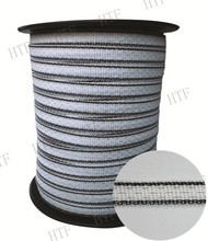 Plastic woven polytape electric fence for farm management