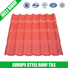 spanish corrugated plastic roofing sheet/tile with Jieli famous brand