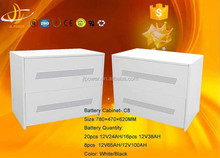 solar battery box/outdoor storage cabinet waterproof/metal box(C8)